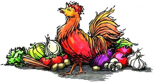 Chicken and Garden Graphic_72dpi
