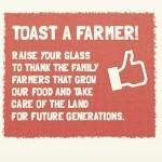 toast a farmer
